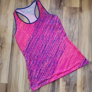Saucony Running Fitness Tank top Pink & Blue